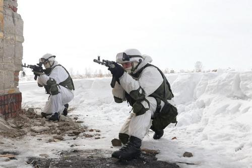 Разведка горно-стрелкового соединения ЦВО уничтожила группу условного противника