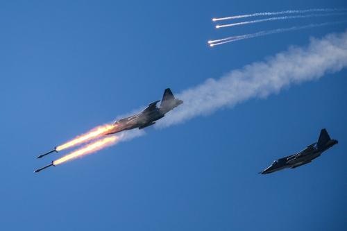 Истребители ВКС России атаковали ракетами протурецких джихадистов в сирийском Идлибе