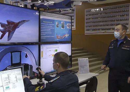 В Военно-воздушной академии прошла выставка научных разработок