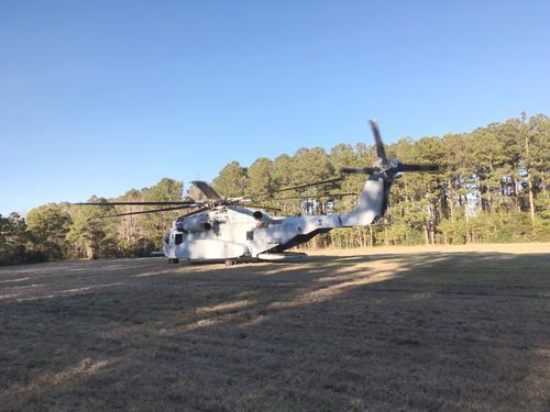 В США проходит испытания новый ударно-транспортный вертолет  CH-53K King Stallion,  предназначенный для морской пехоты