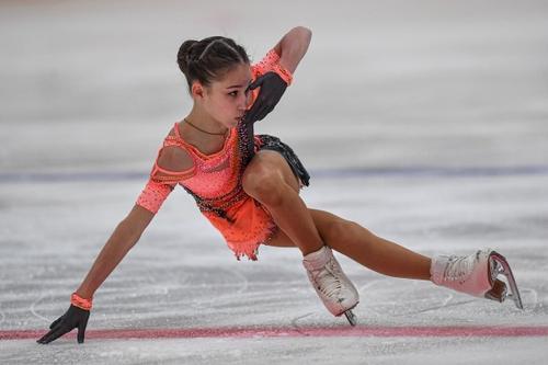 Ученица Тутберидзе Акатова выполнила пять четверных прыжков на тренировке перед первенством России