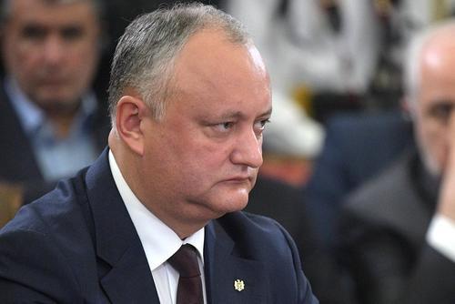 Додон раскритиковал деятельность нового президента Молдавии