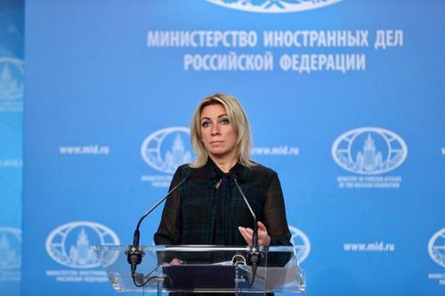 Мария Захарова: Киев упустил шанс к миру в Донбассе
