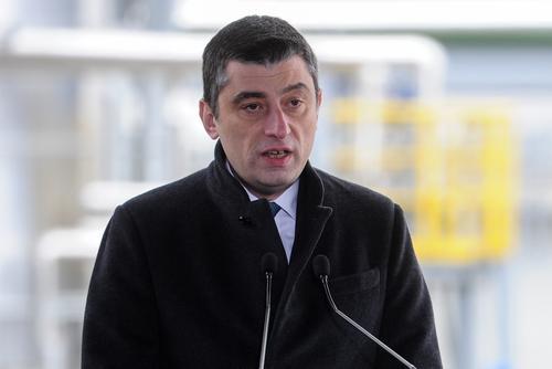 Премьер Грузии Гахария объявил об уходе в отставку