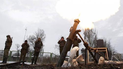 ВСУ открыли минометный огонь по милиции Донбасса, есть убитые