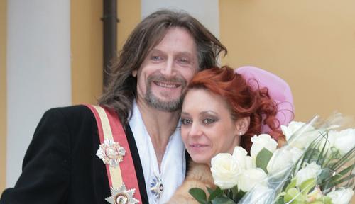 Джигурда и Анисина повторно поженились через 13 лет после первой свадьбы