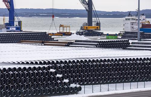 Немецкая фирма отказалась от участия в проекте «Северный поток – 2»