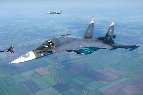 Истребители ВКС России атаковали поддерживаемых Турцией джихадистов в сирийской провинции Идлиб