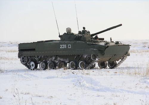 Сухопутные войска РФ получат новые боевые машины пехоты