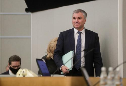 Спикер Госдумы Вячеслав Володин предложил юридически закрепить предвыборные обещания депутатов избирателям