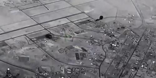 Американская авиабаза на западе Ирака подверглась ракетному обстрелу