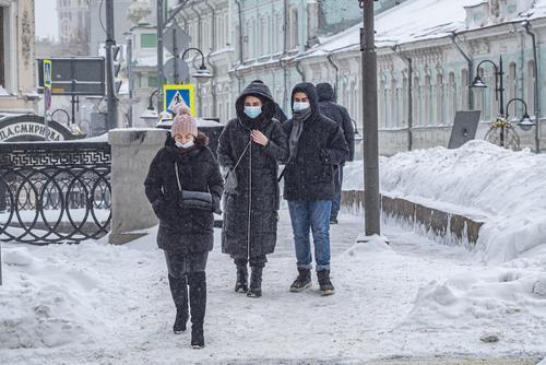 Метель началась в Москве