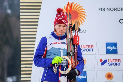 Большунову присудили серебро в марафоне на ЧМ по лыжным гонкам