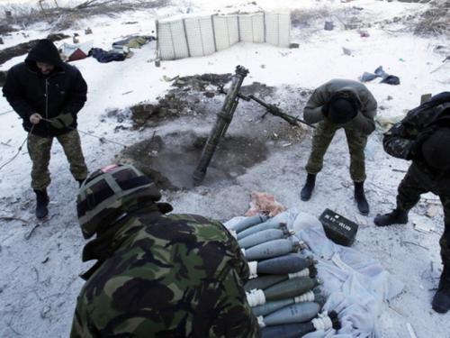 Под Донецком гремит артиллерийская канонада