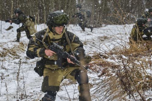 В марте пройдут в двух пунктах совместные маневры ВДВ Белоруссии и России