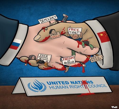 """Китай и Россия вместе борются с """"цветными революциями"""""""