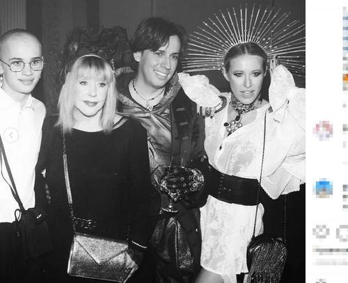 Собчак поделилась впечатлением от дня рождения Ивлеевой, пригласившей на вечеринку Пугачёву с Галкиным и Даню Милохина
