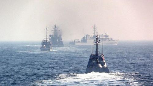 Москитный флот Украины и корабли НАТО провели учения в Черном море