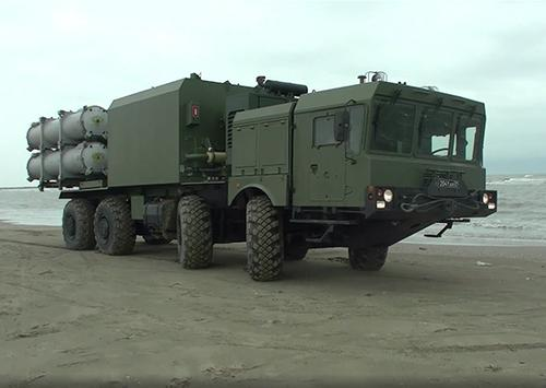Береговые ракетные комплексы «Бал» Каспийской флотилии уничтожили корабли условного противника