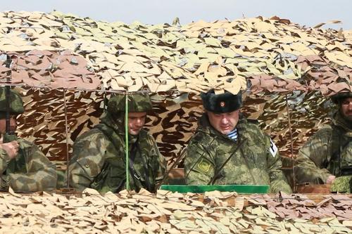 В Крыму завершились маневры Новороссийской дивизии ВДВ