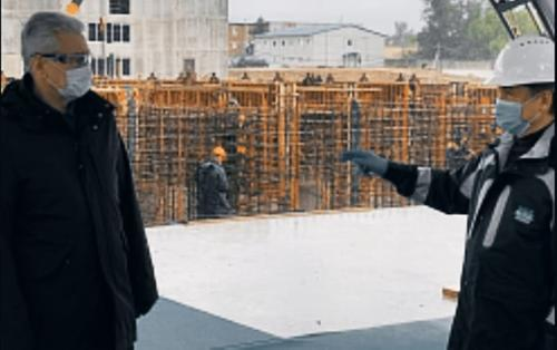 Собянин назвал сроки окончания реконструкции Люберецких очистных сооружений