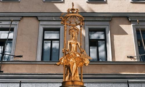 Достопримечательность Арбата - фонтан «Принцесса Турандот» будет отремонтирован