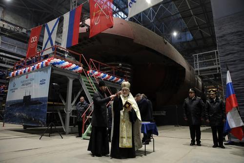 В июне планируется начать заводские ходовые испытания новейшей подводной лодки «Магадан»