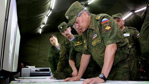 Вооруженные силы РФ проведут в апреле 4048 военных учений различного масштаба