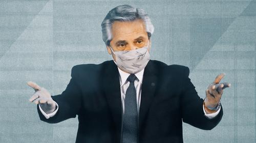 Президент Аргентины продолжает болеть коронавирусом, но чувствует себя нормально