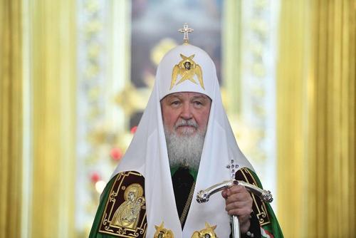 Патриарх Кирилл поздравил верующих с праздником Благовещения
