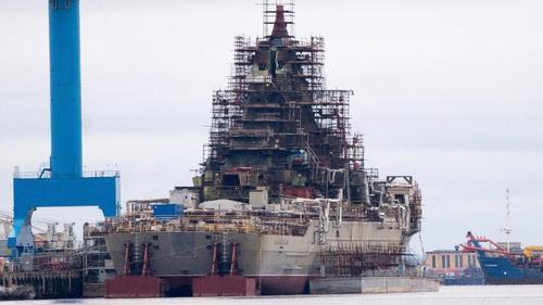 Ремонт крейсера «Адмирал Нахимов» задерживается, по вине поставщиков оборудования