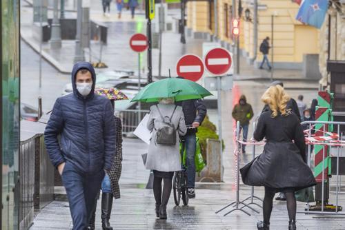 В Москве на четверг объявлен «желтый» уровень погодной опасности