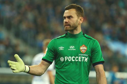 Игорю Акинфееву исполнилось 35 лет