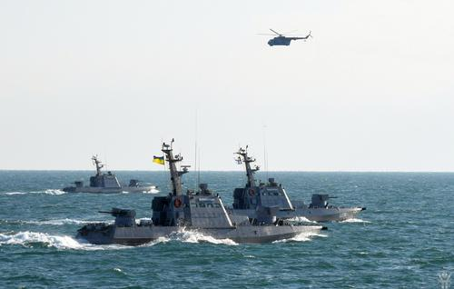 Украина закрыла морские порты и утверждает, что Каспийская флотилия РФ переброшена в Чёрное море