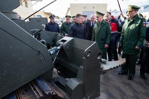 В войсках будет создано подразделение ударных роботов