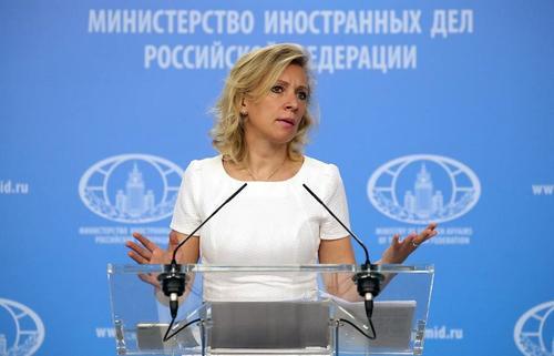 Захарова заявила об истерии в украинских СМИ: «Якобы в планах Москвы чуть ли не завтра напасть на Украину»