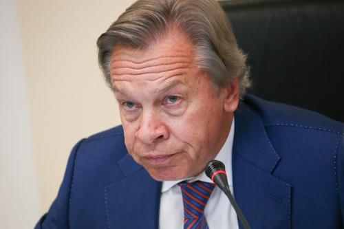 Пушков оценил готовность Украины к боевым действиям на юго-востоке страны: «В Киеве хотят  вовлечь НАТО в конфронтацию в Донбассе»