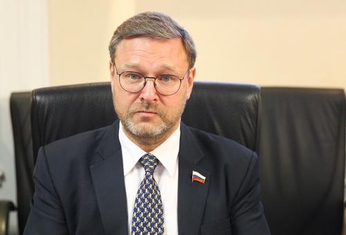 Косачев считает заявление депутата Европарламента о санкциях против РФ «крайне опасным и беспечным»