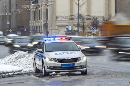 Три автомобиля столкнулись на Кутузовском проспекте в Москве