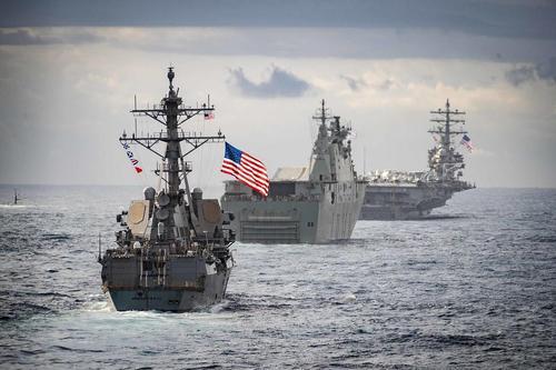 США хотят отправить в Чёрное море дополнительные силы ВМС для поддержки «украинских партнёров»