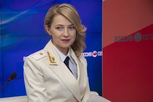 Наталья Поклонская лежит под капельницей
