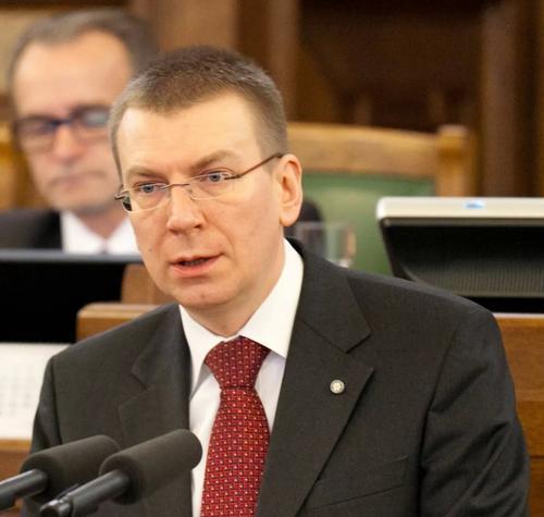 Глава МИД Латвии посетит с рабочим визитом Украину
