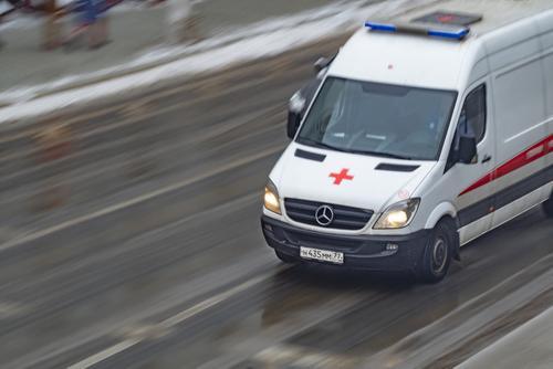 У водителя попавшего в ДТП в Москве автобуса мог случиться инфаркт