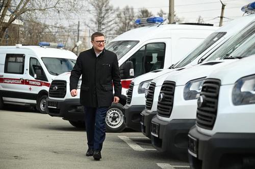 На Южном Урале автопарк скорых пополнят 150 машин