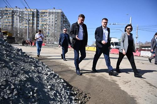 Губернатор Челябинской области проинспектировал дороги областного центра