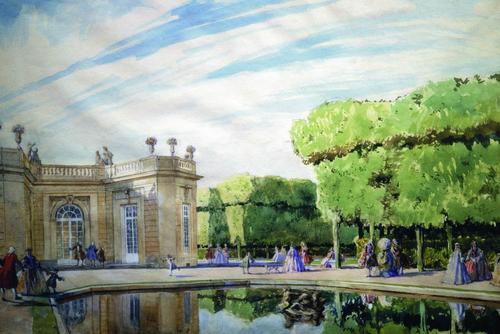 Выставка Александра Бенуа и его «Мир искусства»