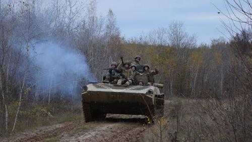 Киев перебросил в Донбасс ещё одну бригаду