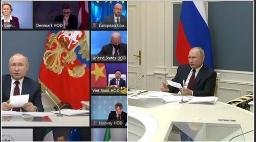 Путин: России уже удалось уменьшить выбросы СО2 в два раза