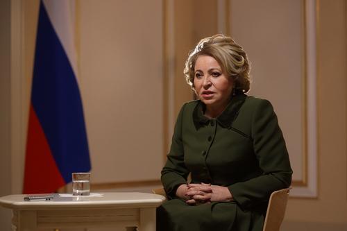 Валентина Матвиенко предложила увеличить количество майских выходных за счет новогодних