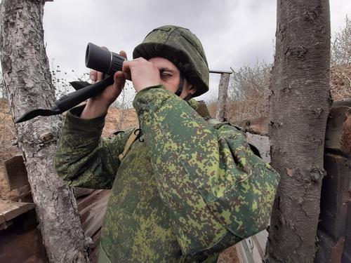 ВСУ обстреляли Горловку из артиллерийских орудий и минометов